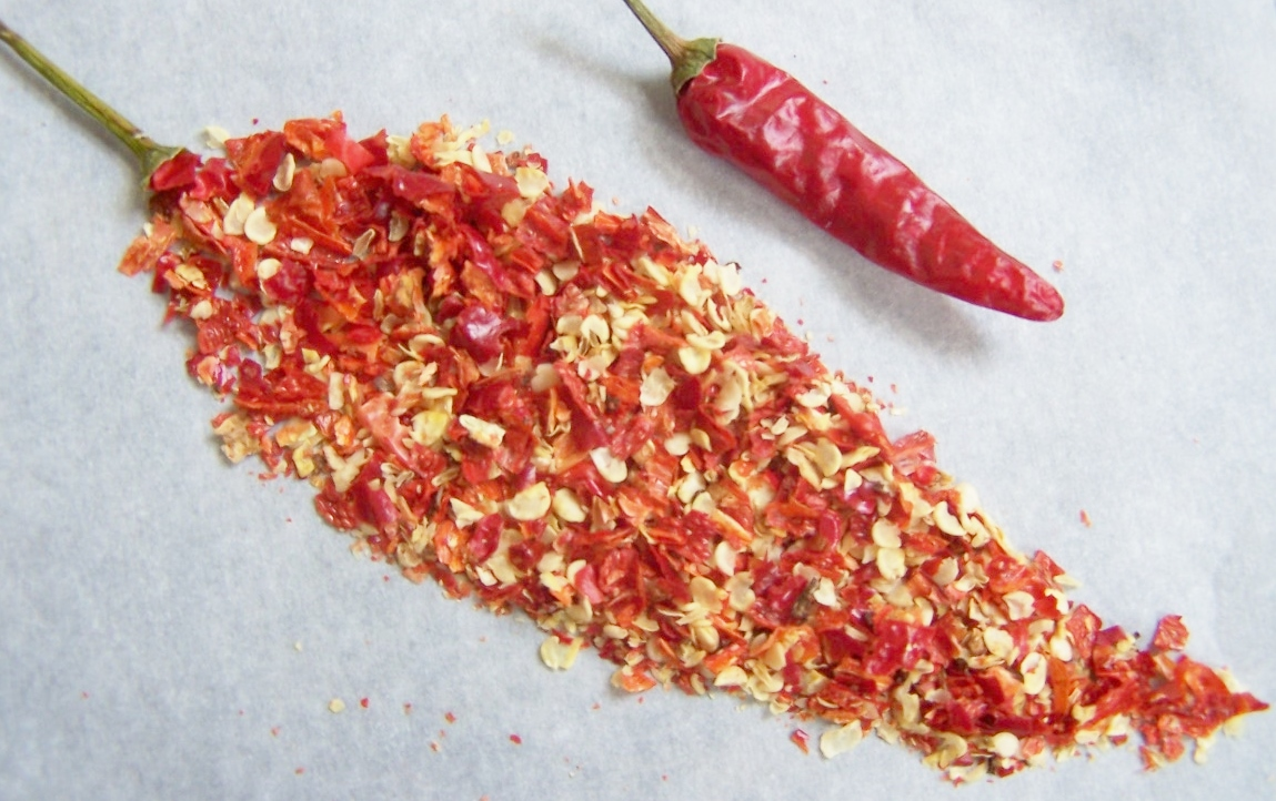 Dried Crushed Cayenne Pepper Flakes