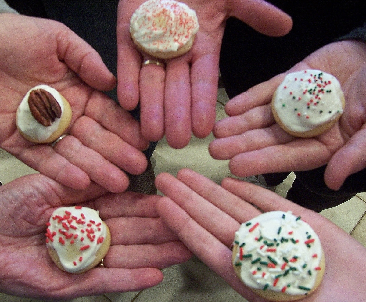 Italian Wedding Cookies Decorated