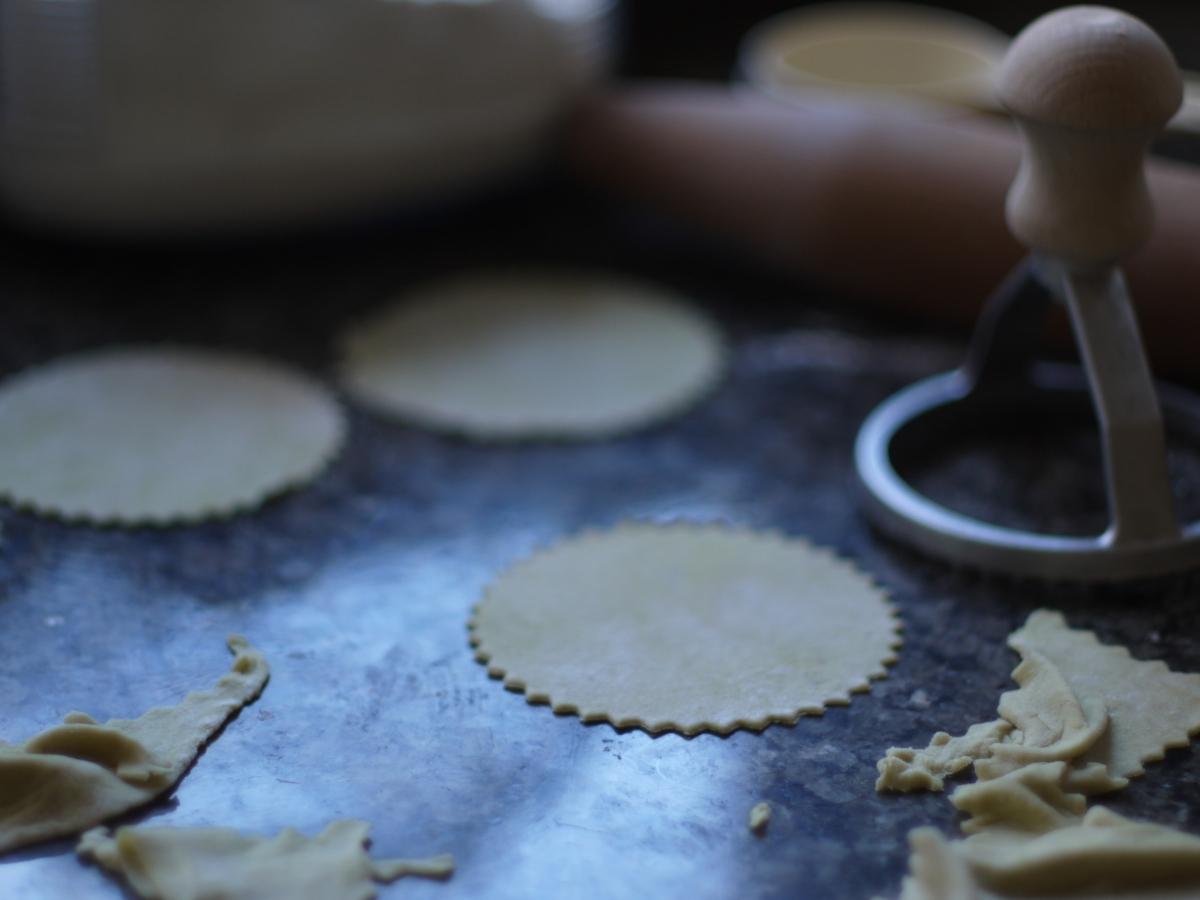 avocado pasta dough ravioli