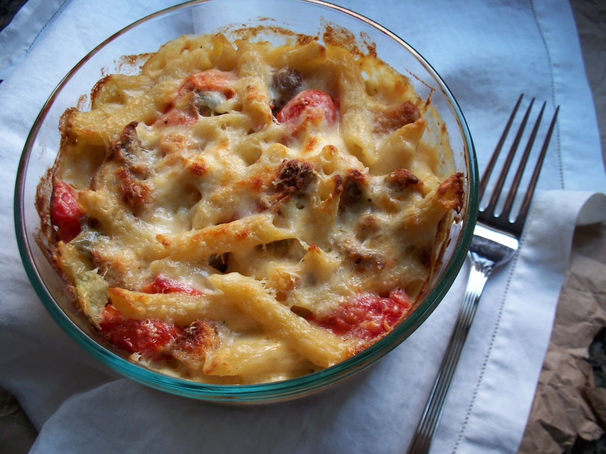 Tuscan Mac and Cheese