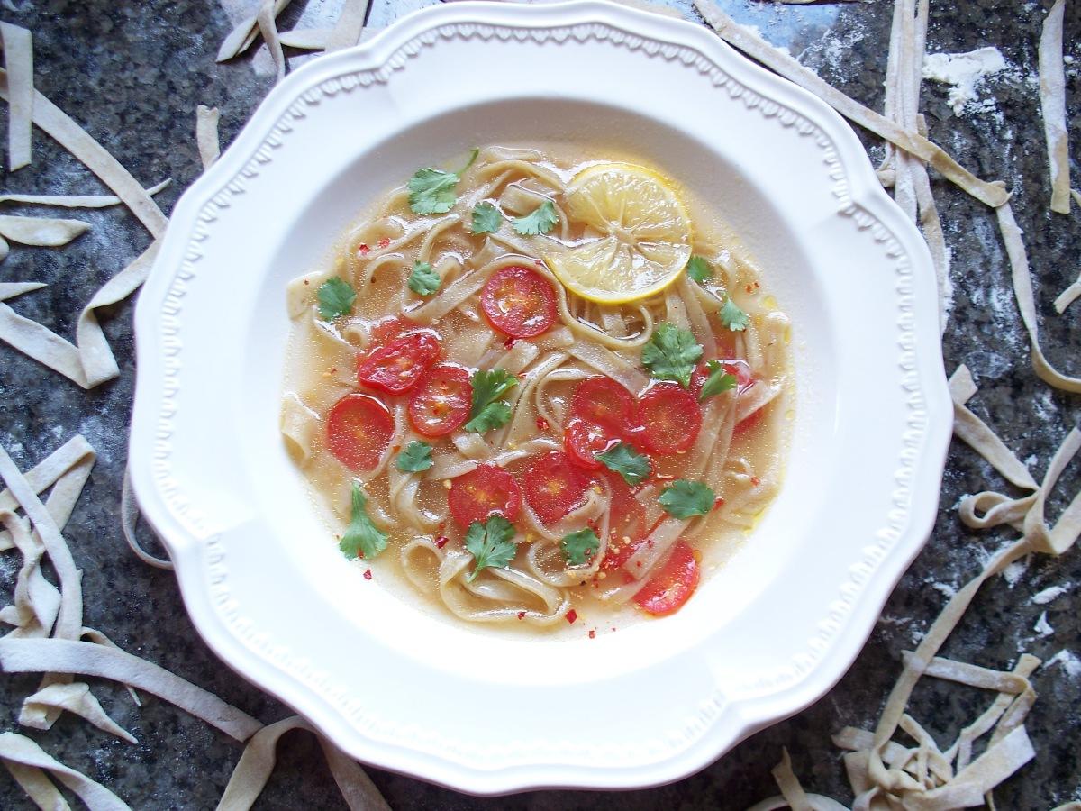 Veggie Avocado Noodle Bowl