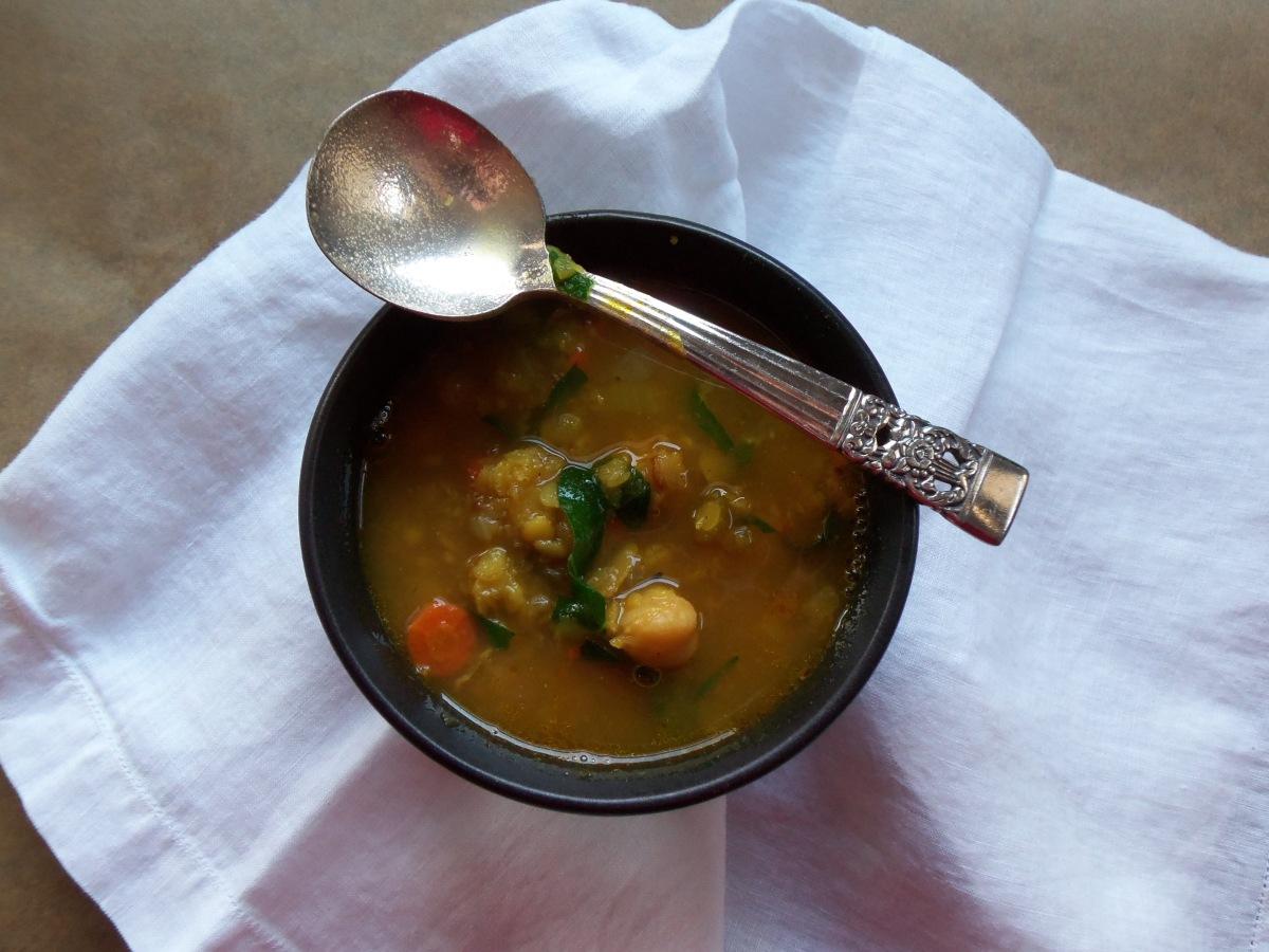 Lentil Chickpea Stew