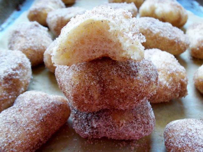 Baked Donuts Cinnamon Sugar Doughnuts