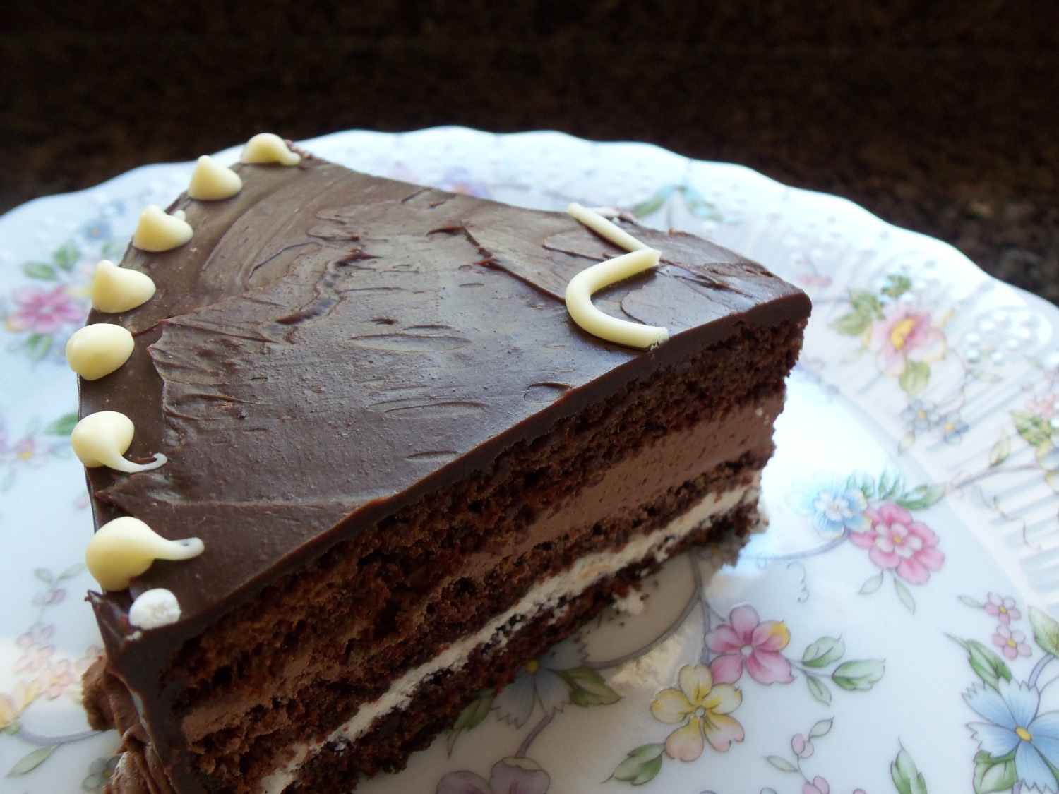 Chocolate Ganache Opera Cream Cake