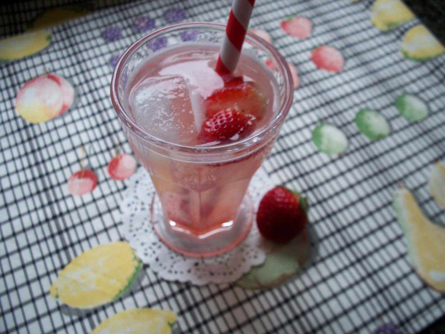 Homemade Berry Soda