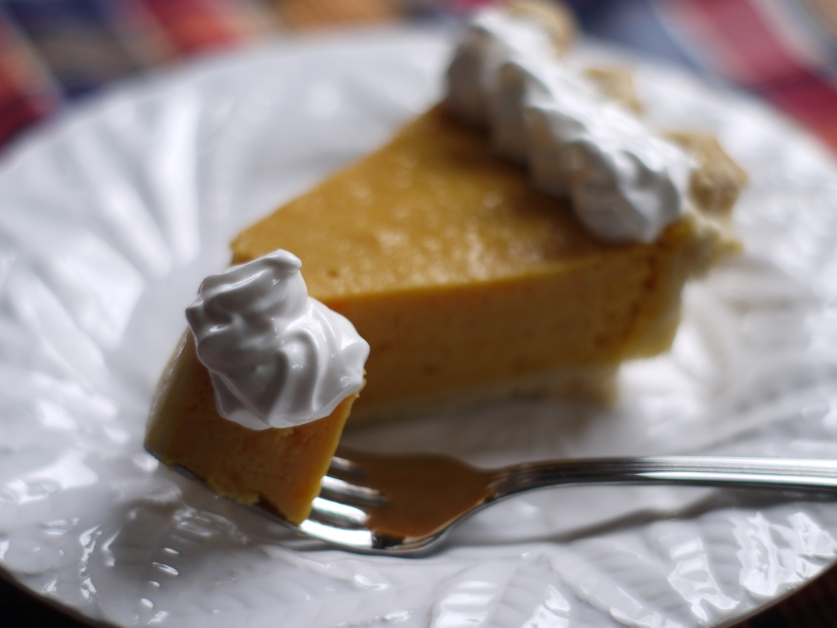 Sweet Potato Pie with Marshmallow Fluff