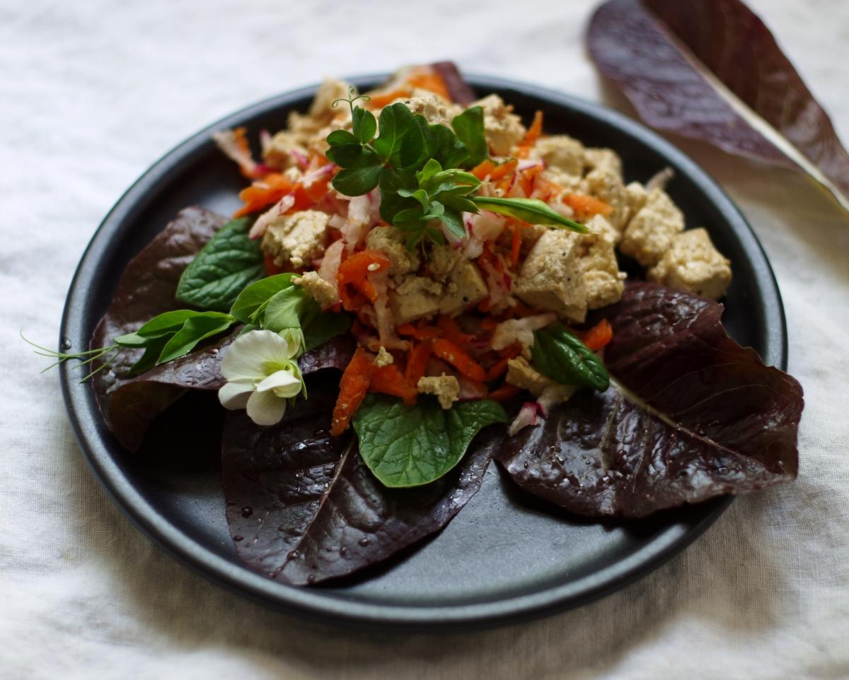 Sesame Tofu Salad