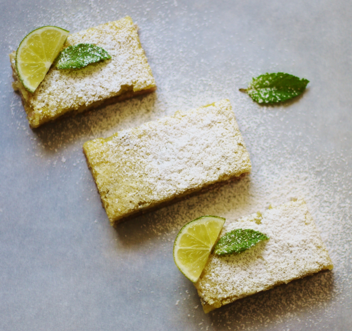 Mojito Cookie Bars