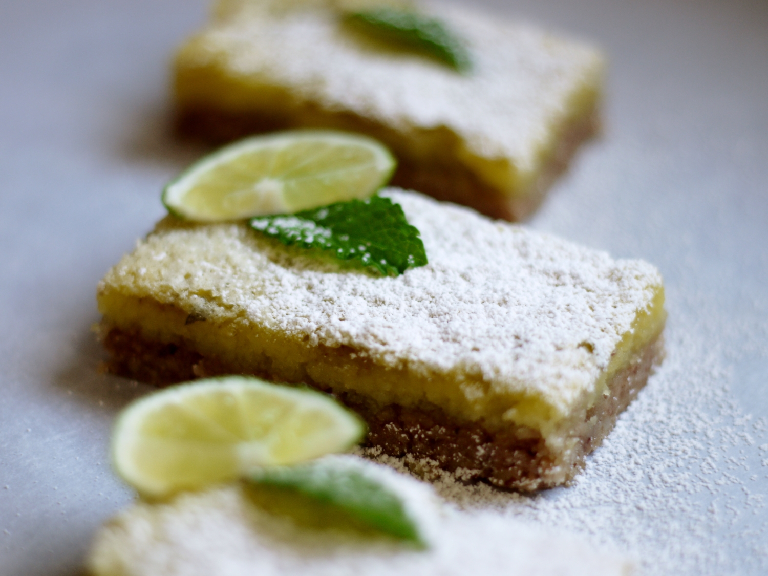 Pecan Mojito Cookie Bars