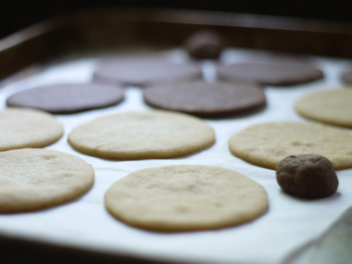 Sugar Cookies Baking