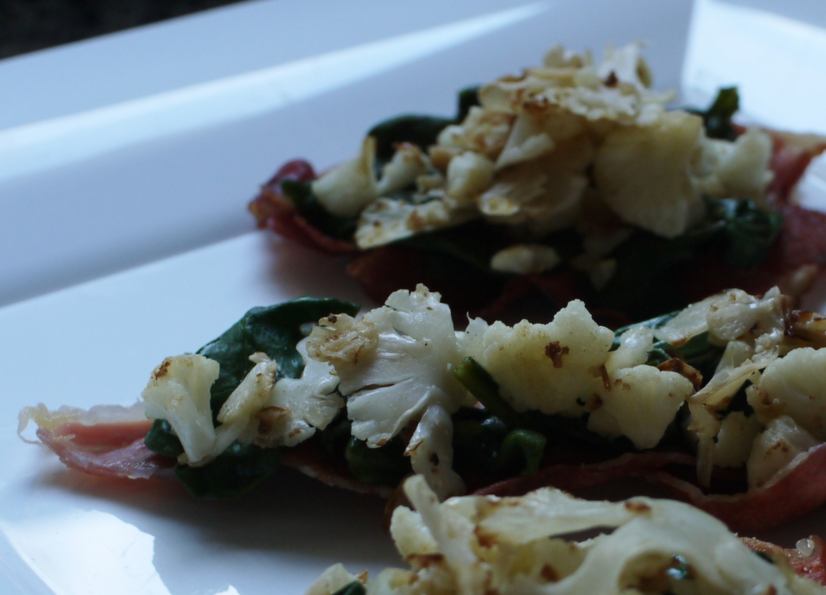 cauliflower appetizer