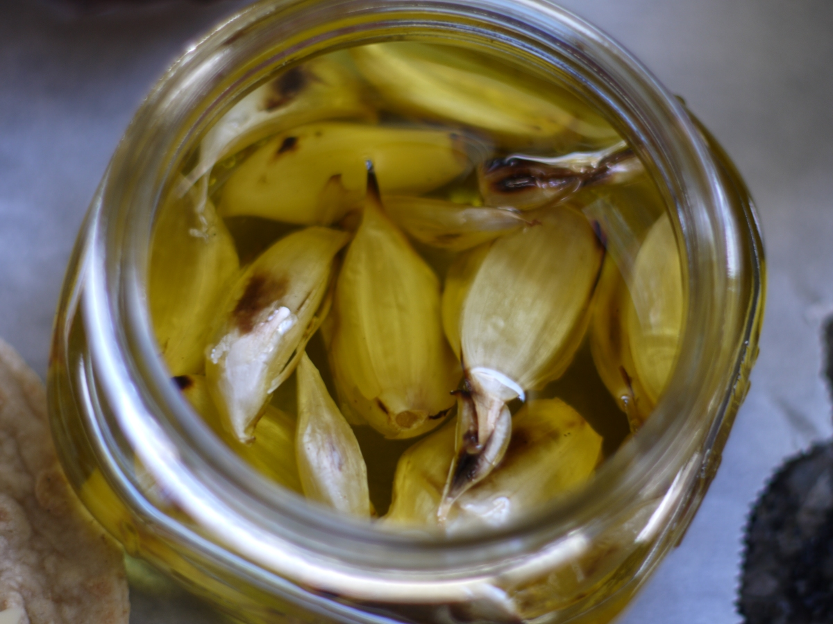 garlic olive oil