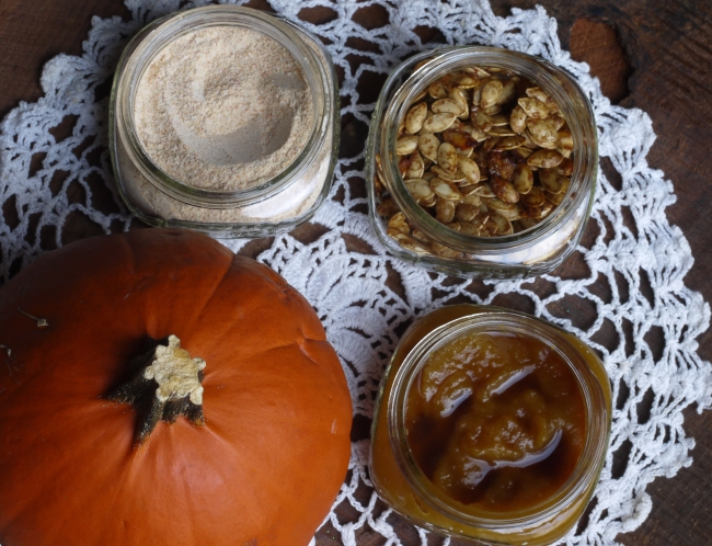 Pumpkin Butter Pumpkin Sugar Roasted Pumpkin Seeds
