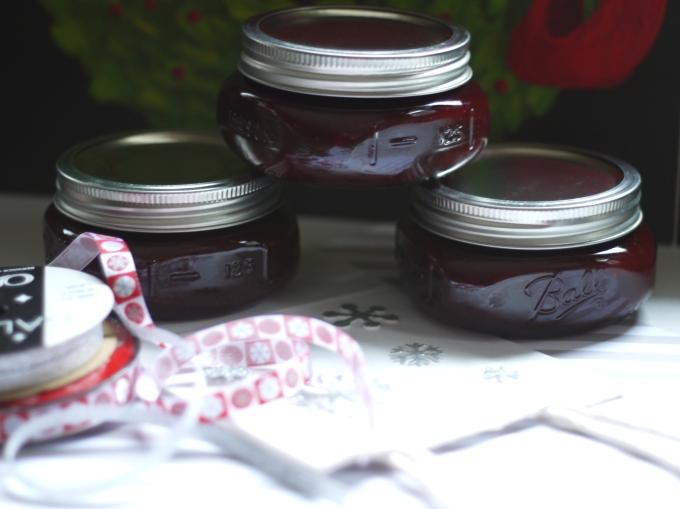 raspberry choco jam gift