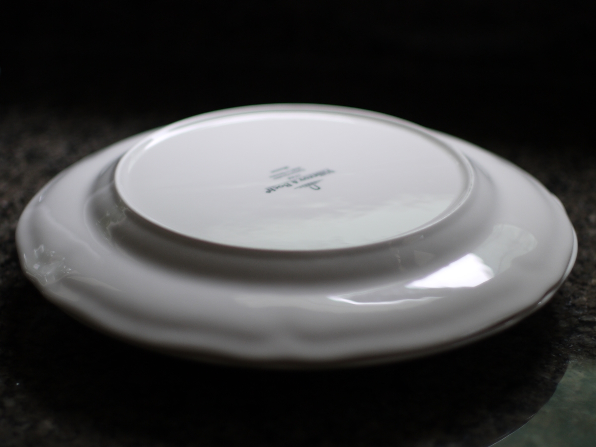 villeroy and boch manoir plates